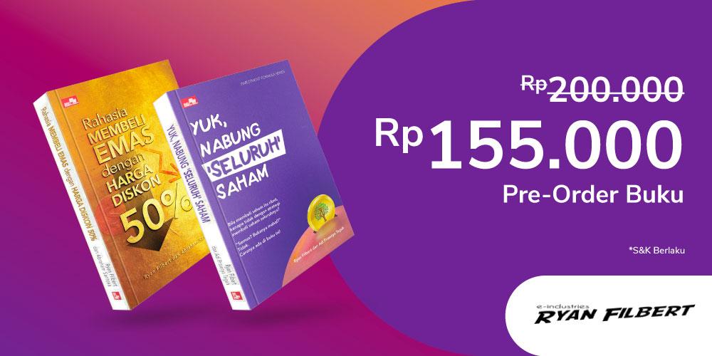 Gambar promo Pre Order buku Ryan Filbert dapat benefit lainnya Rp1,349,000 dari Ryan Filbert E-Industry
